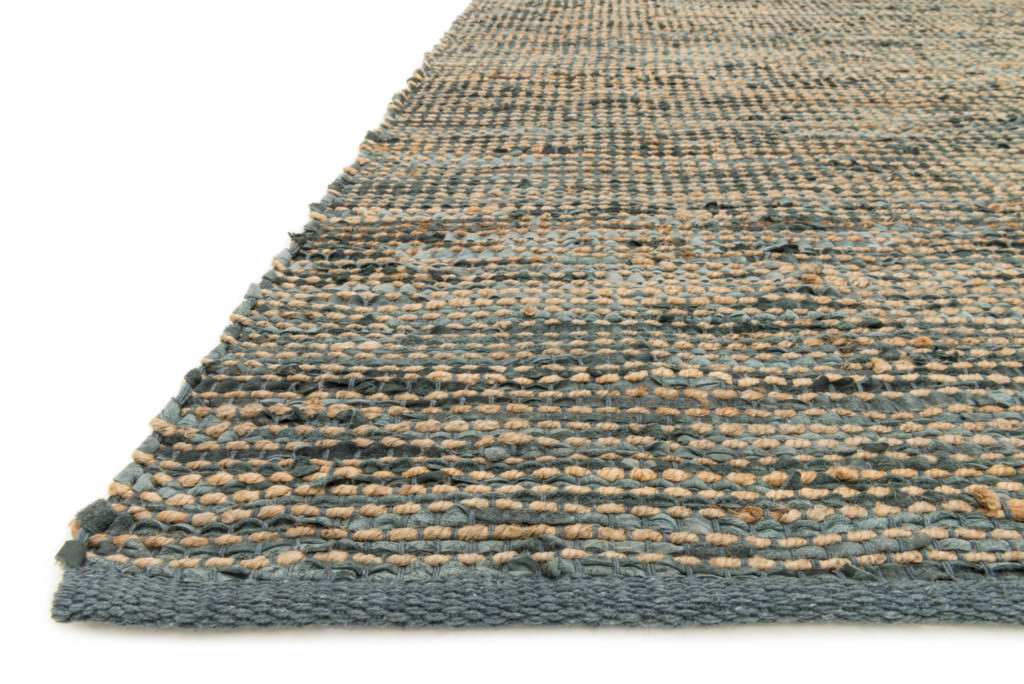 Loloi Edge ED-01 Grey Rug (floor view)