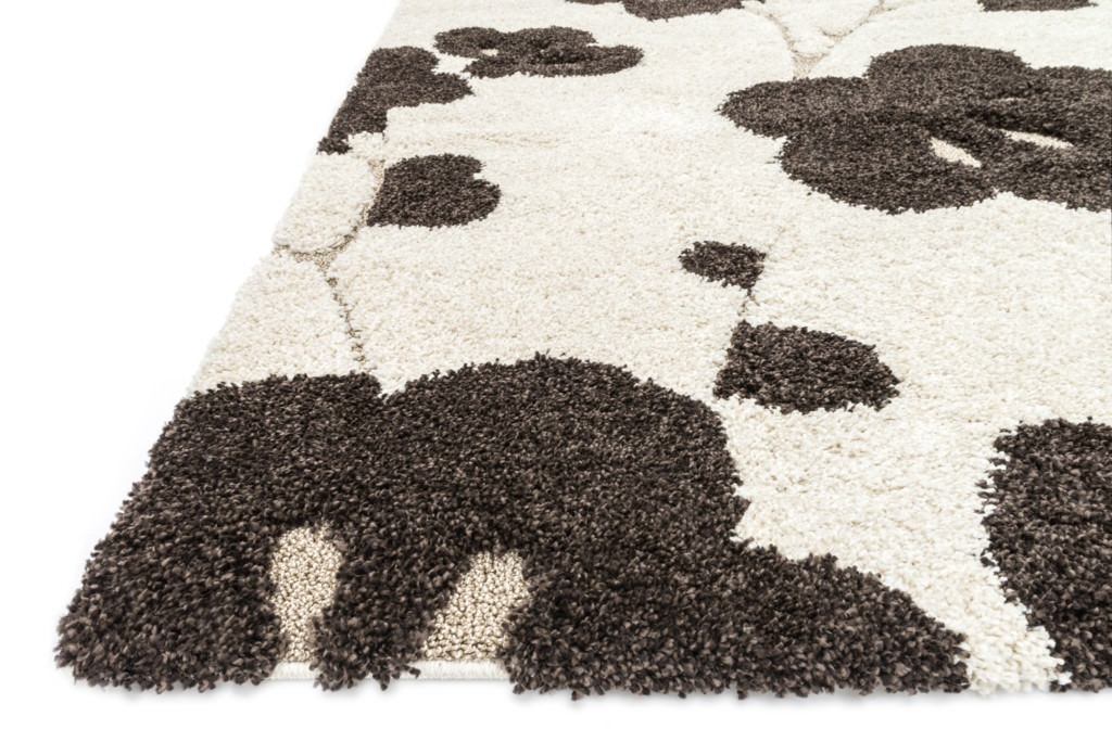 Loloi Enchant EN-08 Ivory / Expresso Rug (floor view)