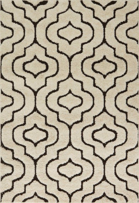 Loloi Enchant EN-22 Ivory / Dark Brown Rug