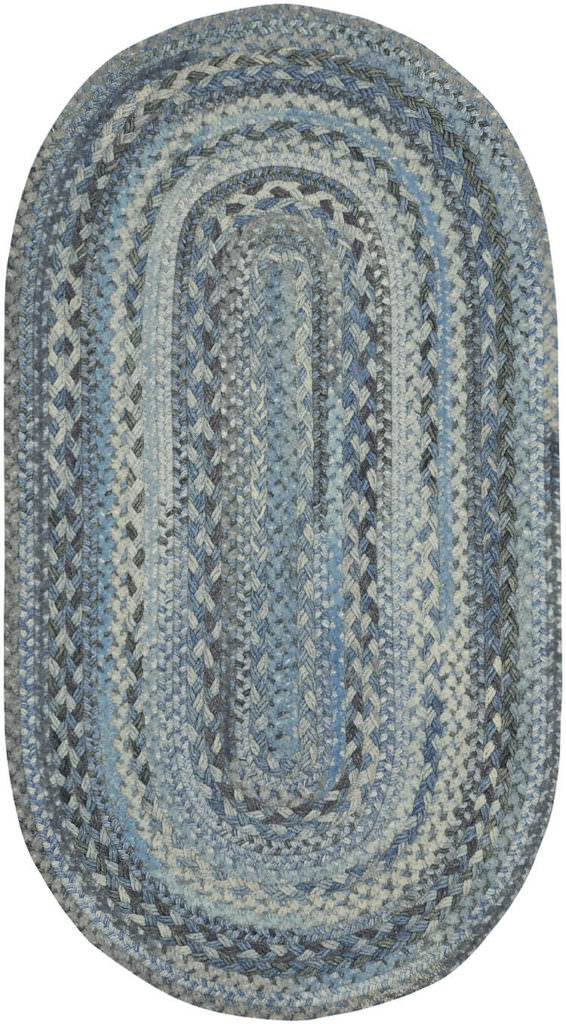 Capel Bayview 440 Slate Braided Rug