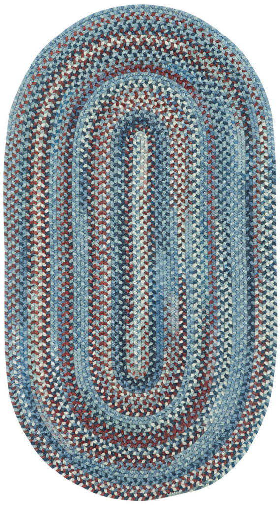 Capel American Legacy 425 Old Glory Braided Rug