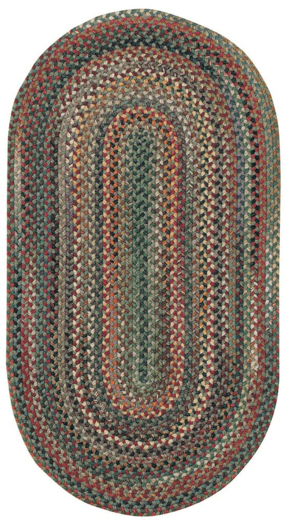 Capel Bear Creek 225 Sage Braided Rug