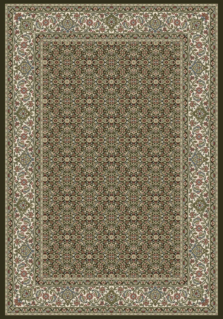 "Dynamic Ancient Garden 9'-2"" x 12'-10"" 57011-3263 Black / Ivory Rug"