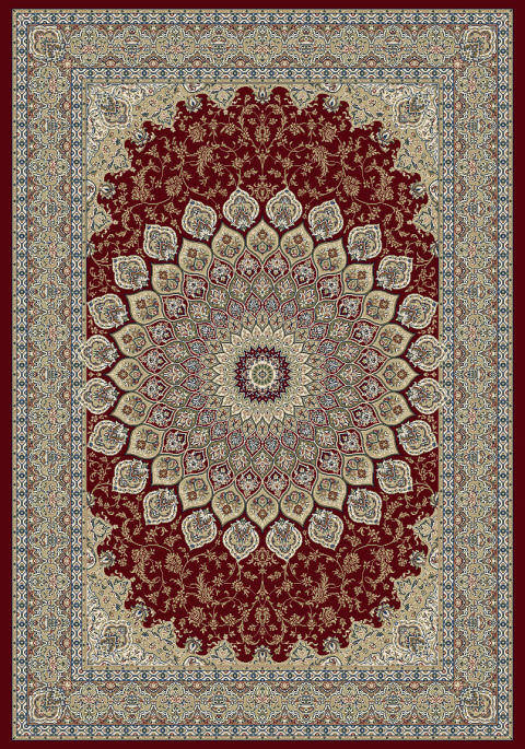 "Dynamic Ancient Garden 9'-2"" x 12'-10"" 57090-1484 Red Rug"