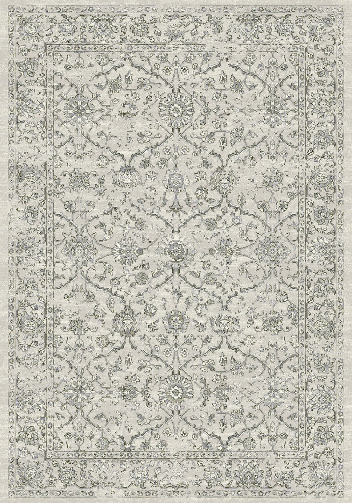 "Dynamic Ancient Garden 9'-2"" x 12'-10"" 57136-9696 Silver / Grey Rug"