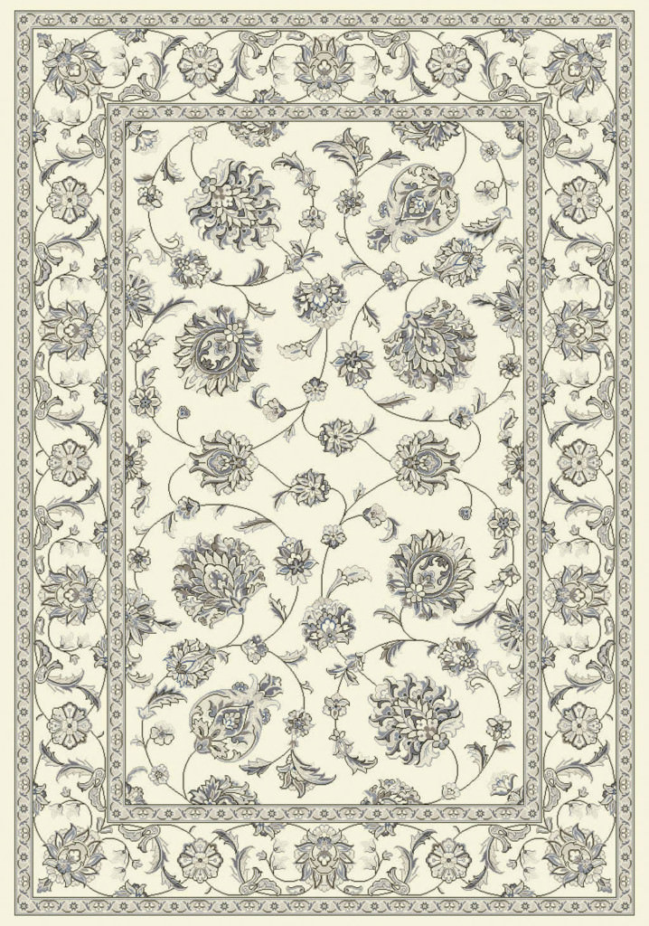 "Dynamic Ancient Garden 9'-2"" x 12'-10"" 57365-6666 Cream Rug"