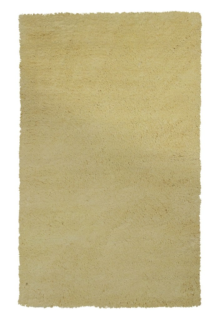 "KAS Bliss 1574 Canary Yellow Shag 27"" X 45"" Rug"
