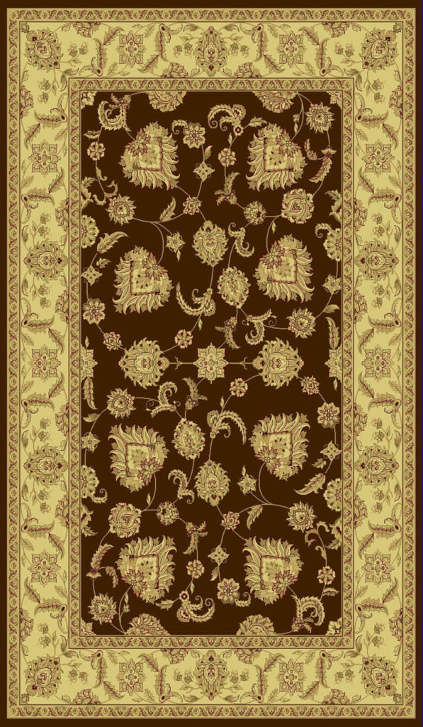 "Dynamic Legacy 9'-2"" x 12'-10"" 58020-600 Brown Rug"