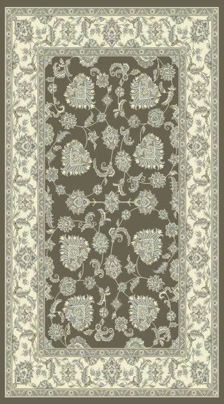 "Dynamic Legacy 9'-2"" x 12'-10"" 58020-910 Dark Grey Ivory Rug"