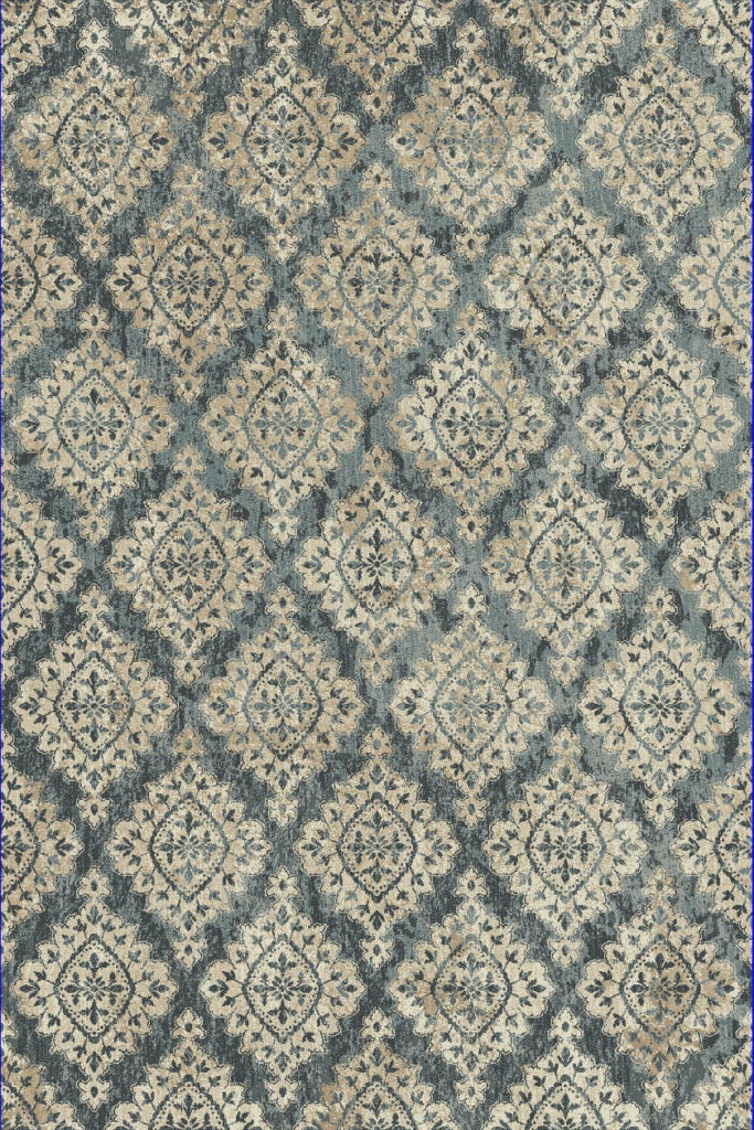 "Dynamic Melody 9'-2"" x 12'-10"" 985015-119 Blue Rug"