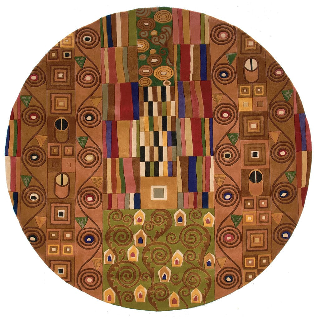 "Momeni New Wave 9'-6"" x 13'-6"" NW-02 Multi Round Rug"