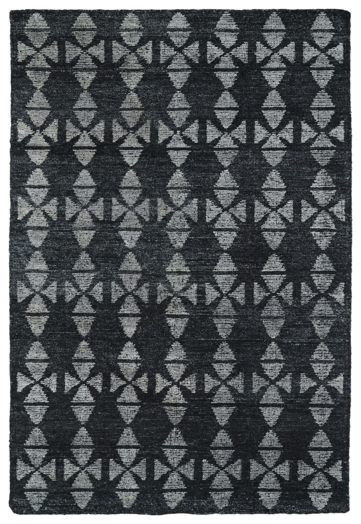 Kaleen Solitaire SOL02-38 Charcoal Rug