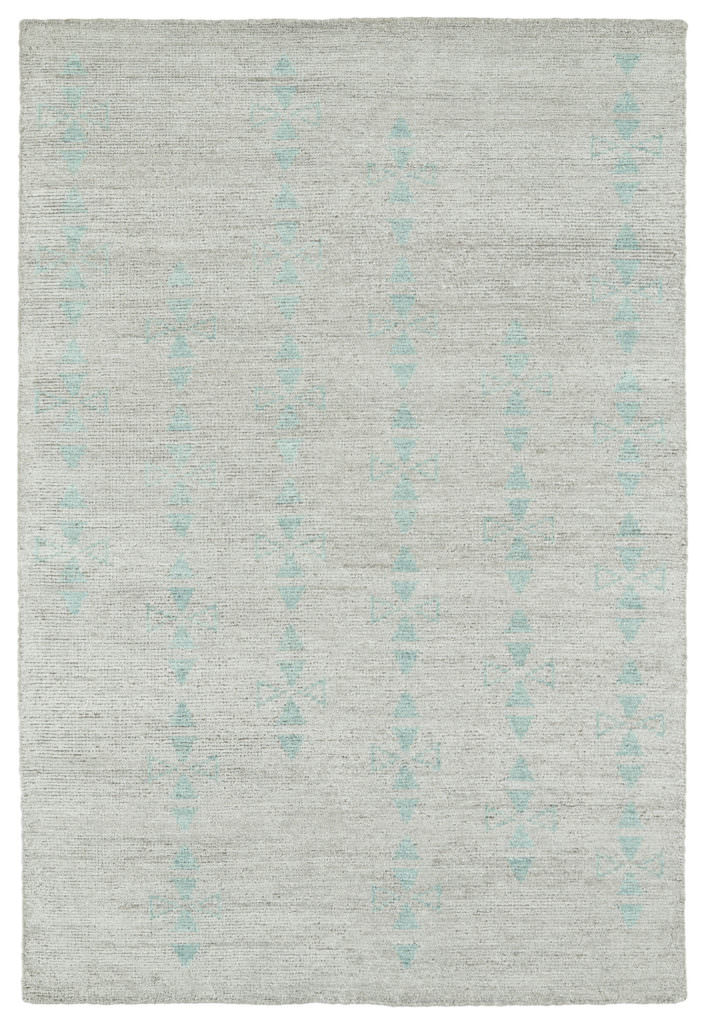 Kaleen Solitaire SOL03-77 Silver Rug