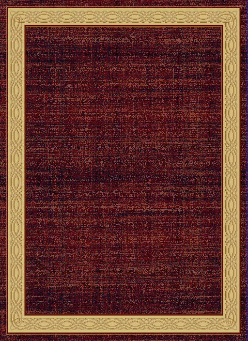 "Dynamic Yazd 7'-10"" x 10'-10"" 1770-310 Red Rug"