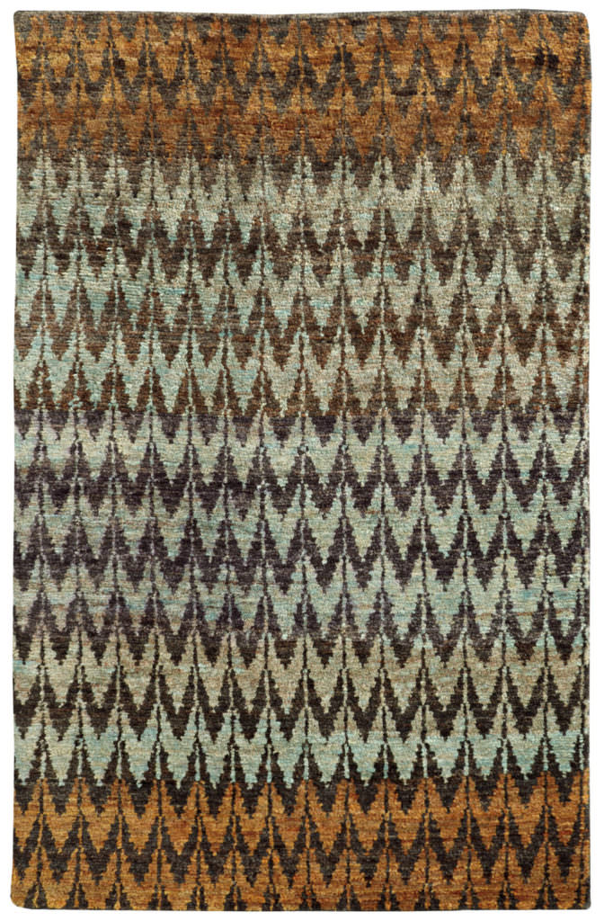 Tommy Bahama Ansley ANS 50908 Brown / Blue Rug