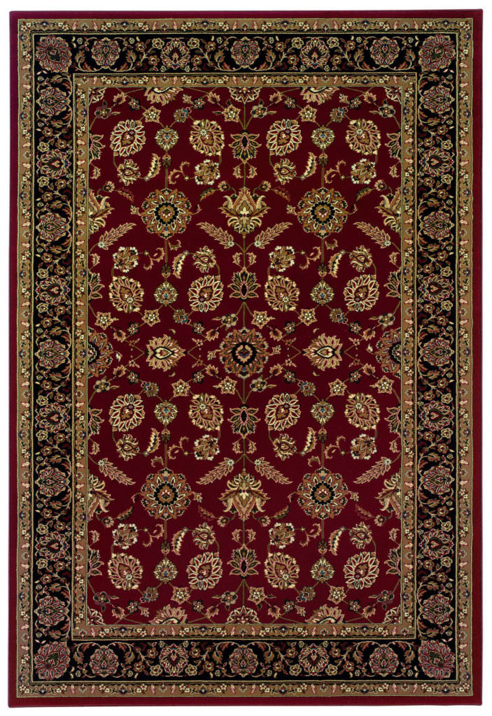 Oriental Weavers Ariana ARI 271C3 Red / Black Rug