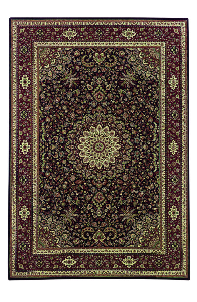 Oriental Weavers Ariana ARI 095N2 Brown / Red Rug