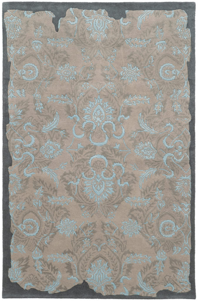 CIN 45102 Grey / Blue Rug