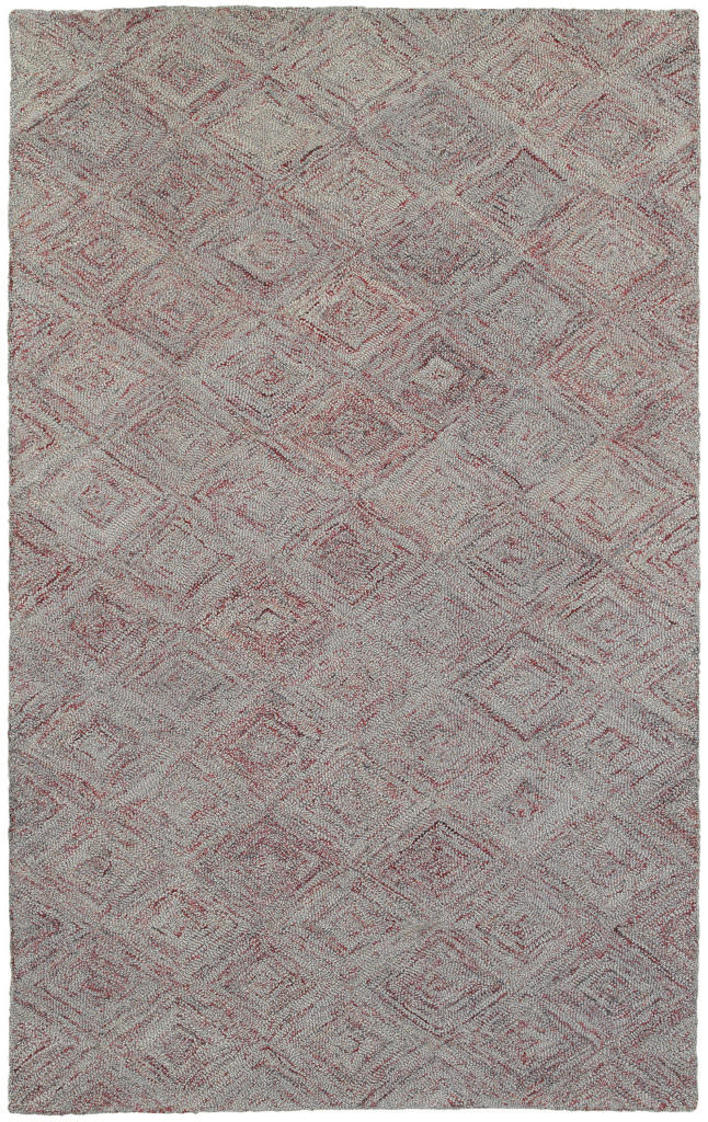 CLR 42114 Rust / Grey Rug
