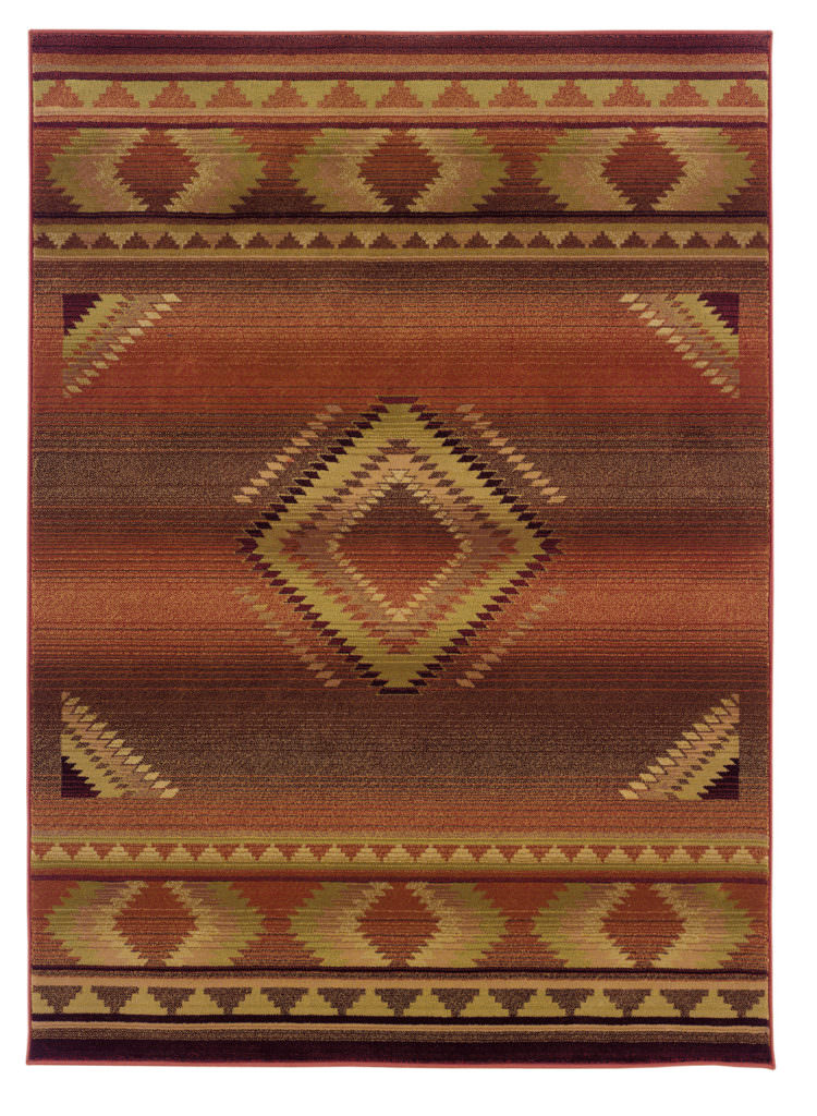 Oriental Weavers Generations GNR 1506C Red / Beige Rug
