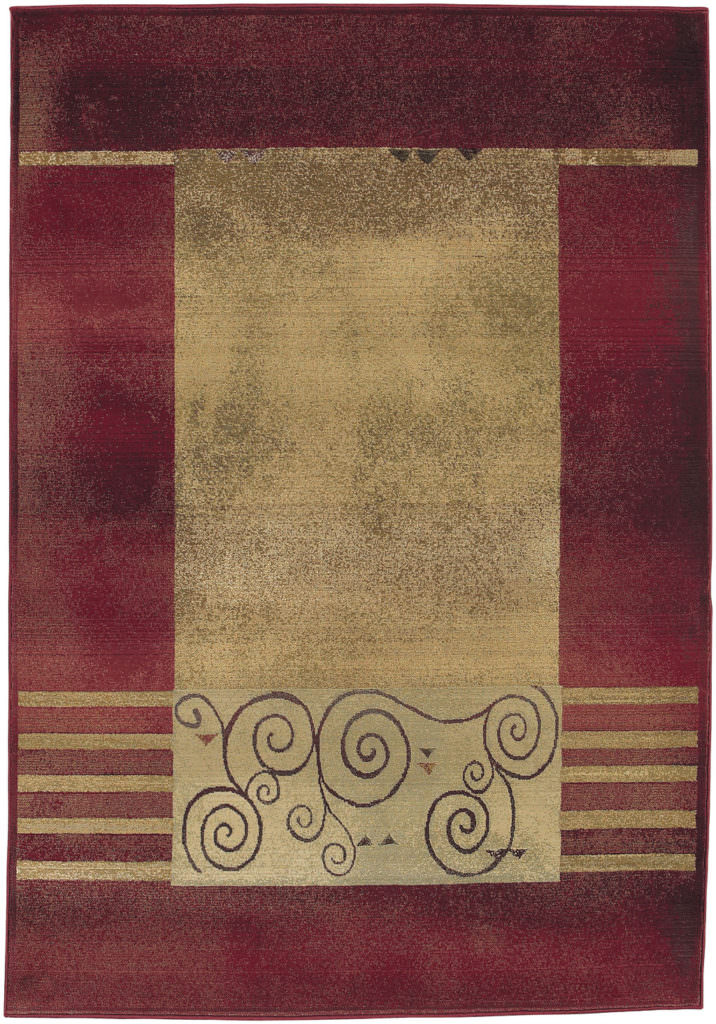 Oriental Weavers Generations GNR 213R1 Red / Beige Rug