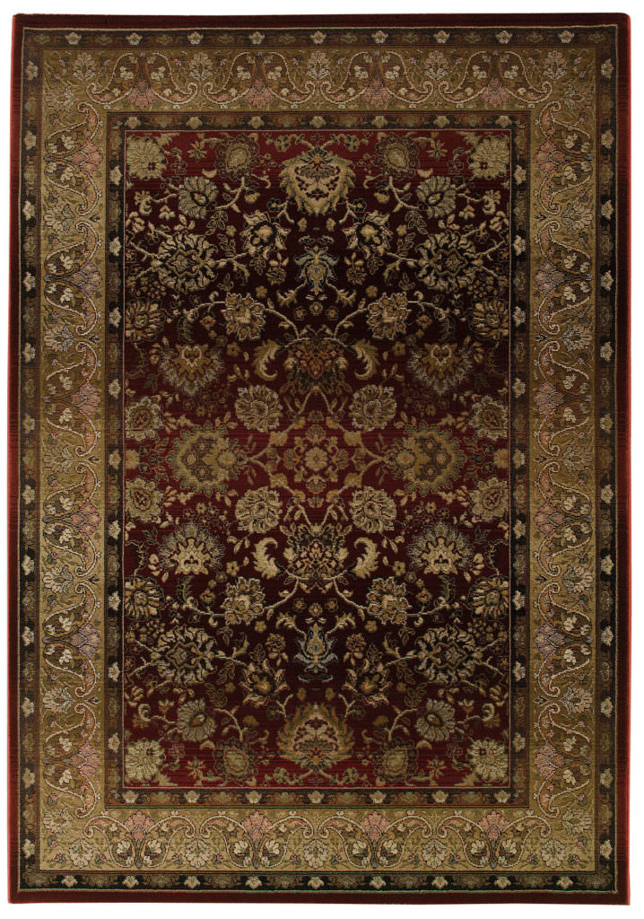 Oriental Weavers Generations GNR 3434R Red / Beige Rug
