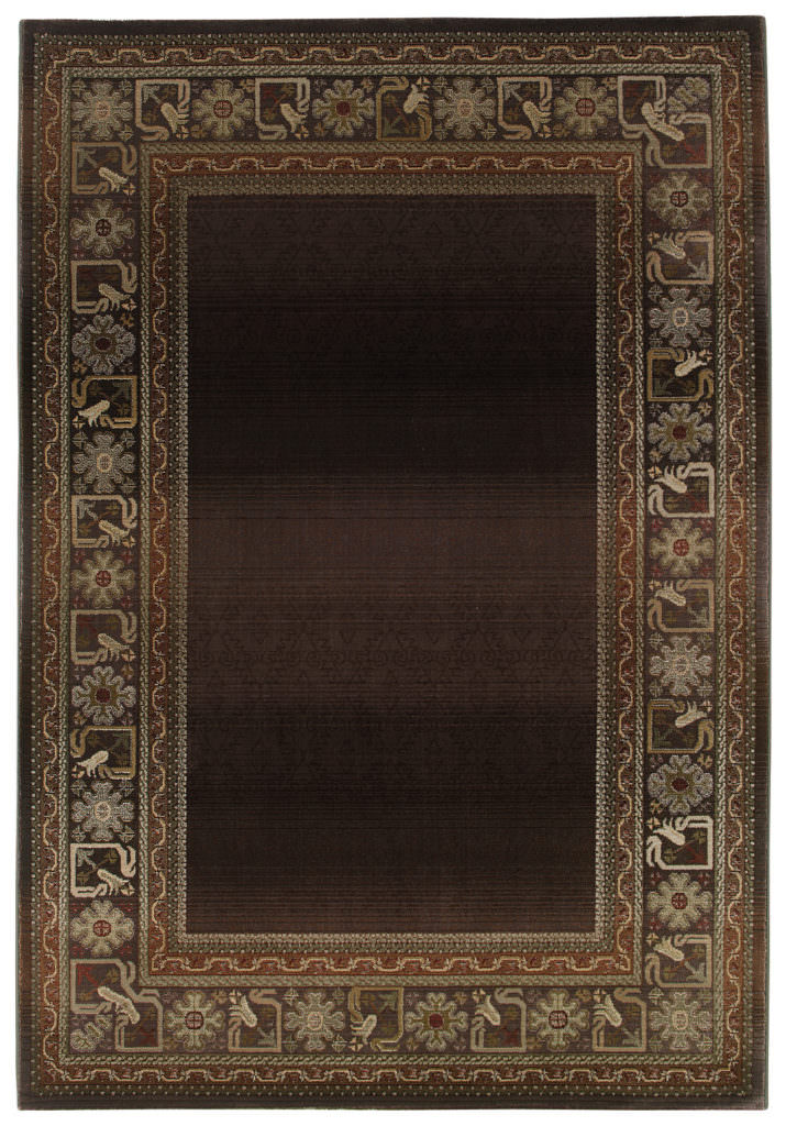 Oriental Weavers Generations GNR 3436B Brown / Green Rug
