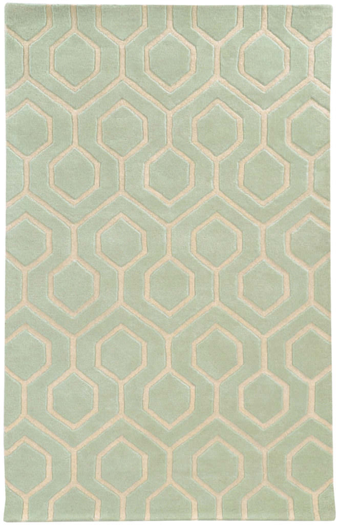 OPC 41106 Green / Ivory Rug